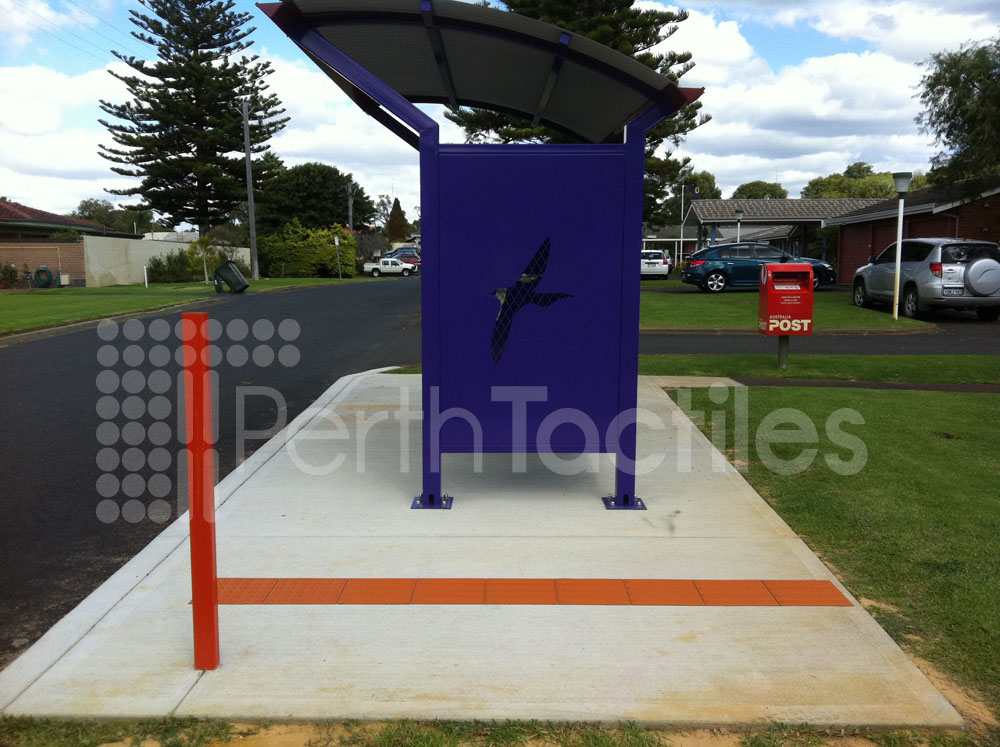 Tactiles Bus Stop Bunbury