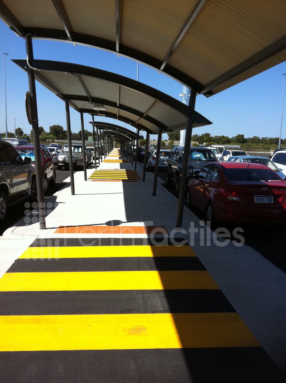 Tactiles Perth Int Airport