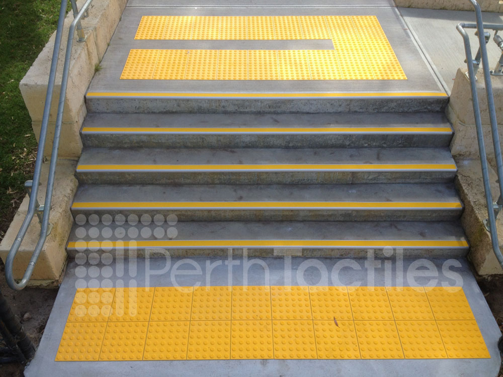 Tactiles and Safety Stair Tread