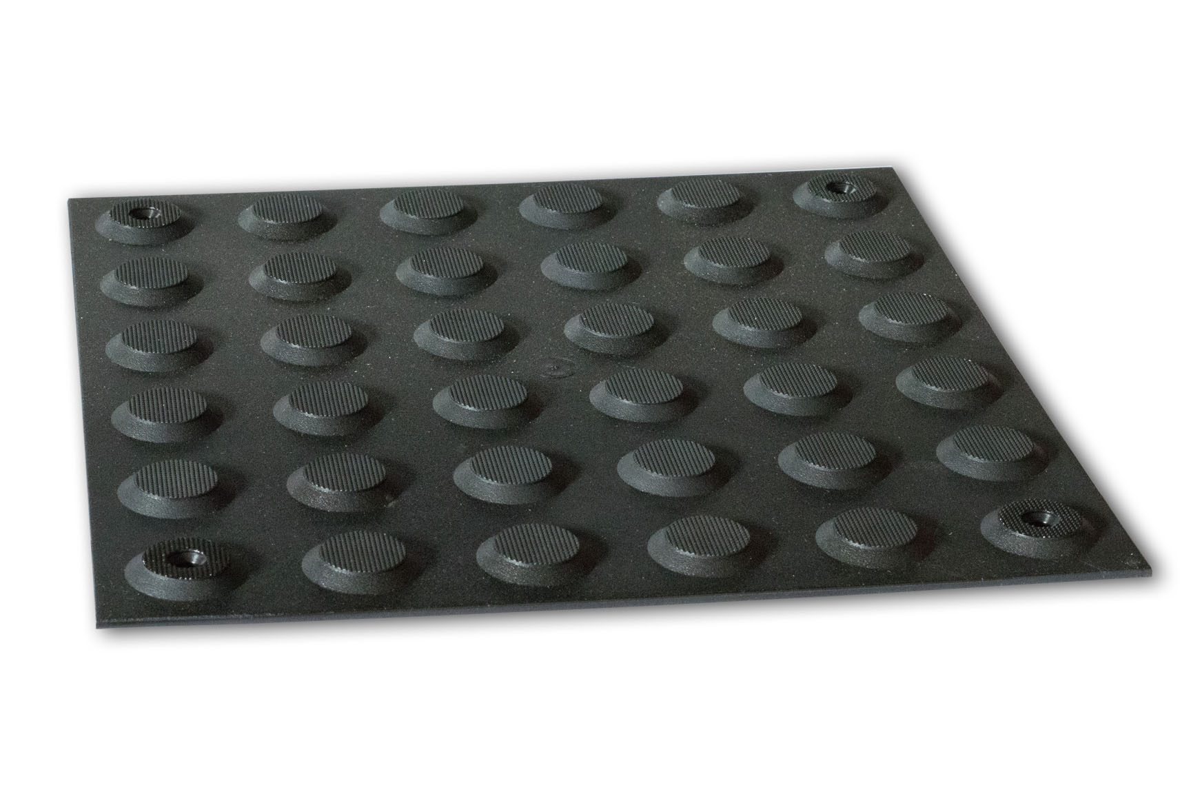 PERTH TACTILES BLACK POLYURETHANE PINNED WARNING 300x300