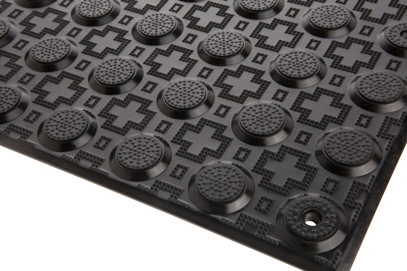 PTBSA600 - Black  Fibreglass Reinforced Polymer Tactiles - Perth Tactiles