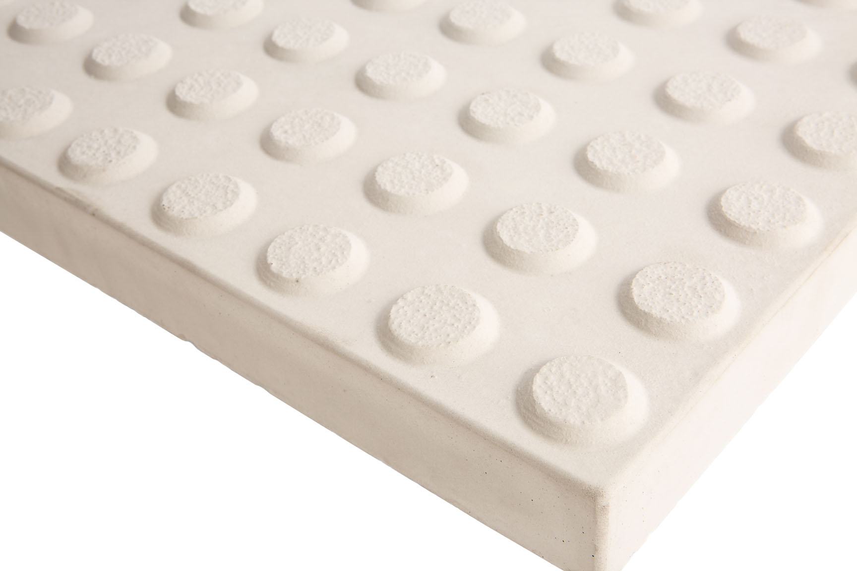 PTCPW400 CREAM PAVER WARNING TACTILES 400x400