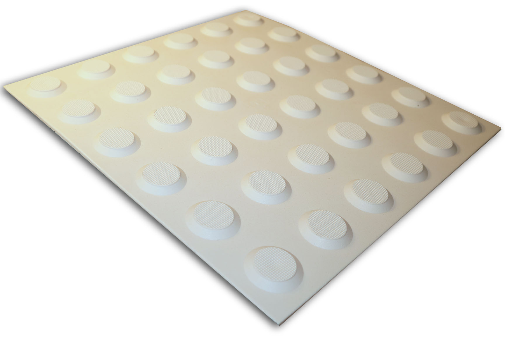 PERTH TACTILES IVORY POLYURETHANE WARNING 300X300