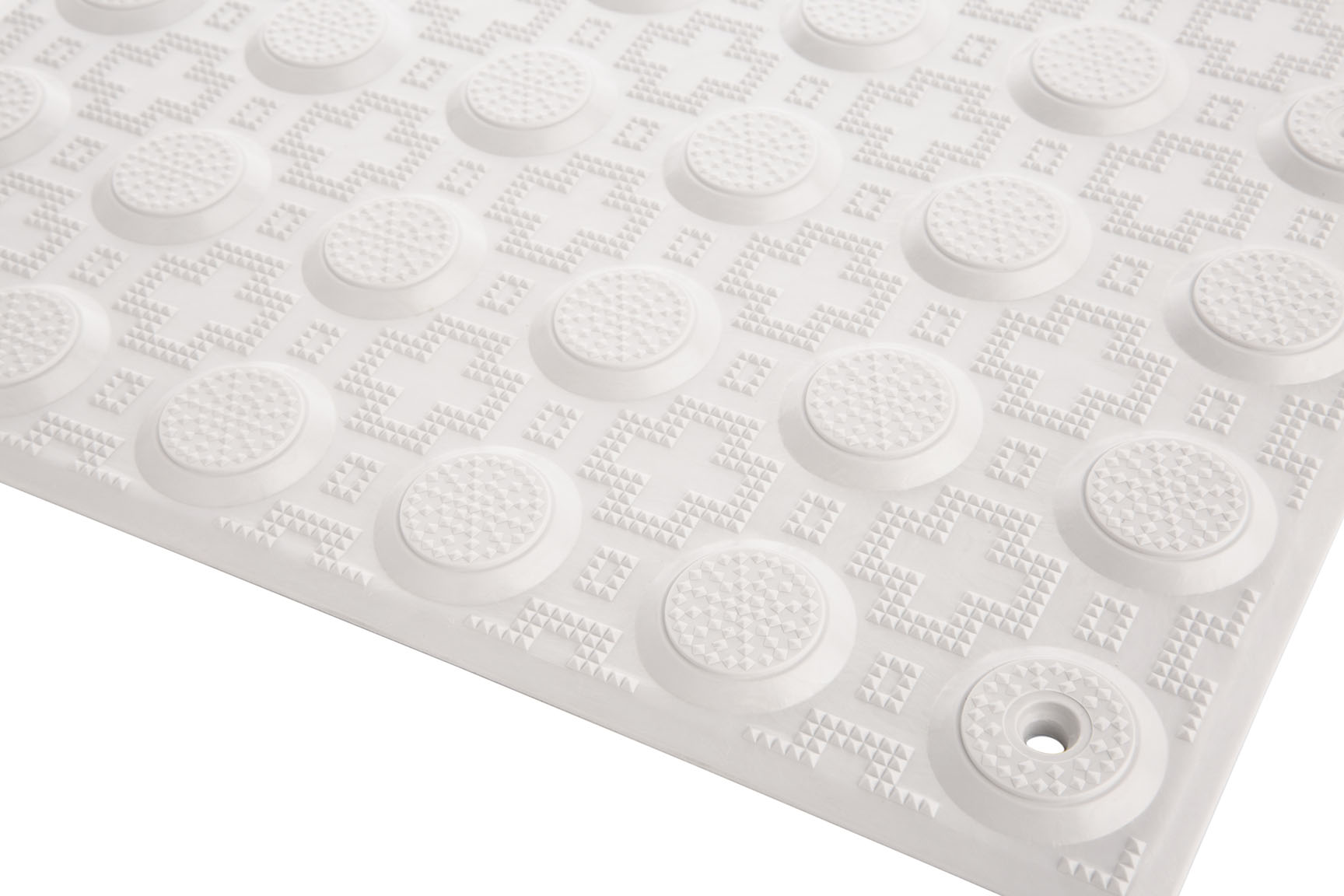 PTISA600 - White Fibreglass Reinforced Polymer Tactiles - Perth Tactiles