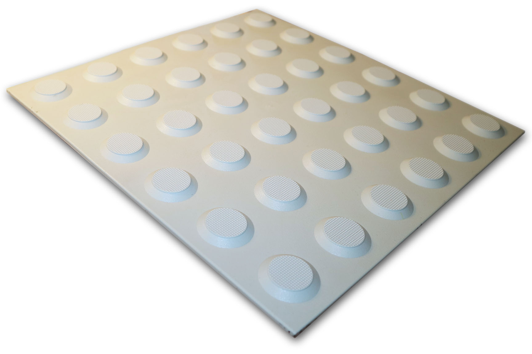 PERTH TACTILES LIGHT GREY POLYURETHANE WARNING 300X300