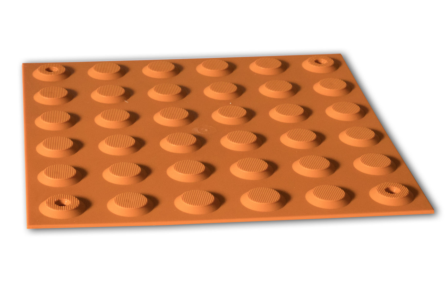 PERTH TACTILES TERRACOTTA POLYURETHANE PINNED WARNING 300x300
