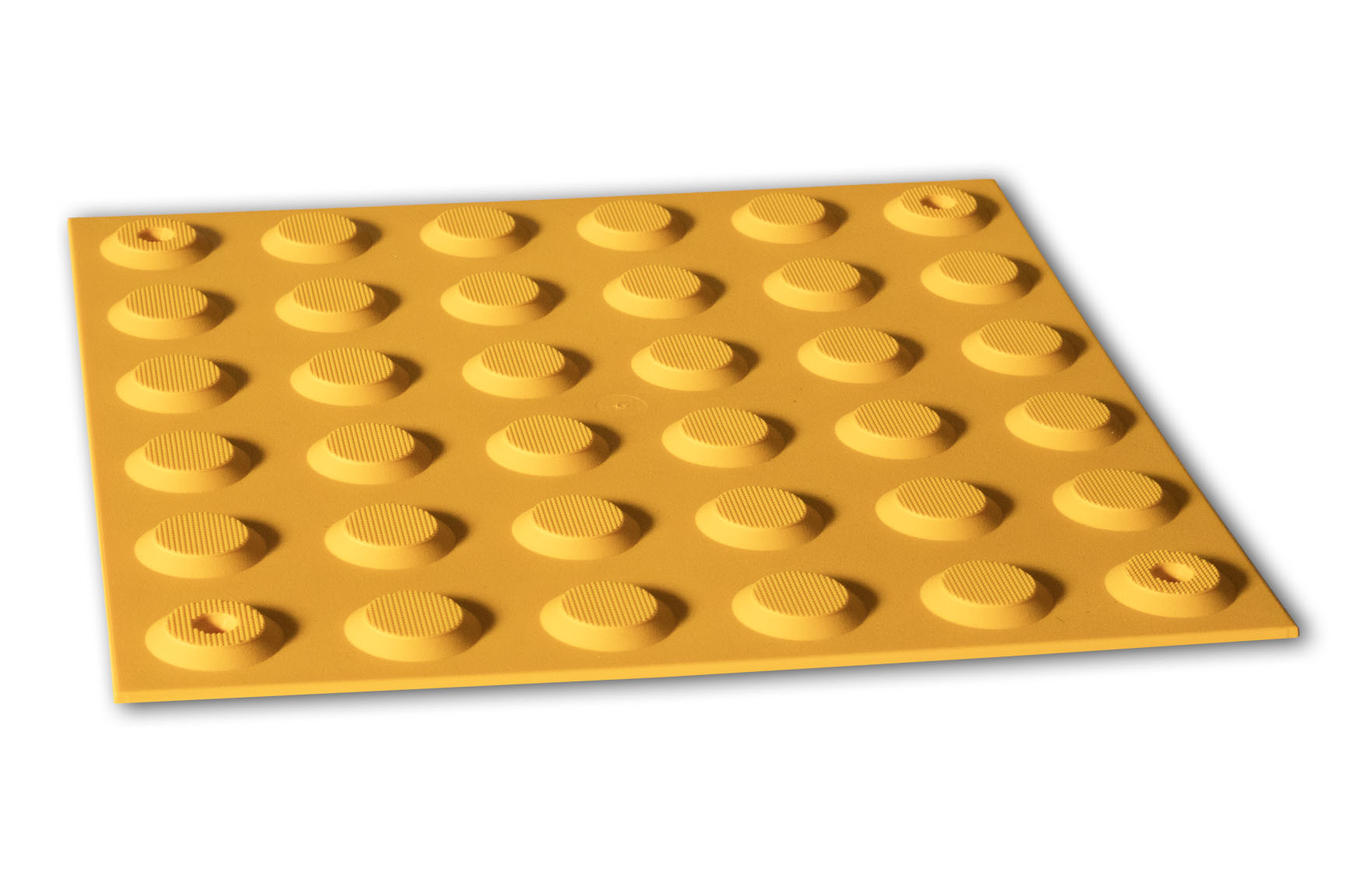PERTH TACTILES YELLOW POLYURETHANE PINNED WARNING 300x300